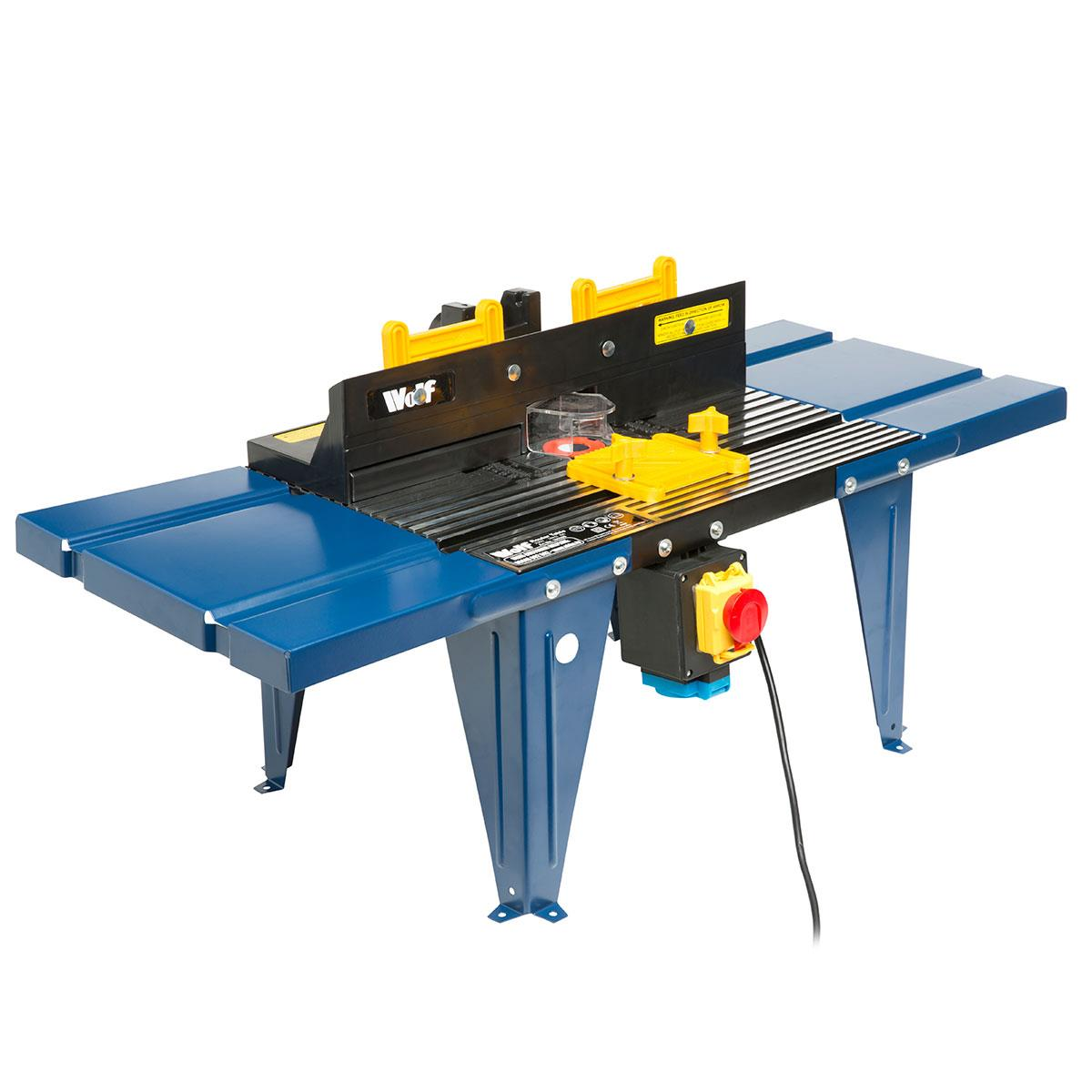 Powerful wolf 1200w plunge router router table kit ukhs tools wolf die cast aluminium router table greentooth Choice Image
