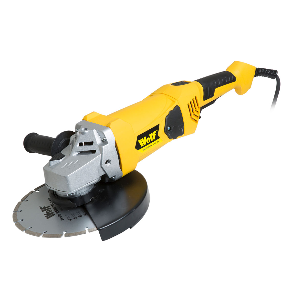 Wolf 2300w Angle Grinder With 230mm 9 Disc
